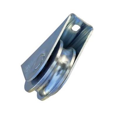 roue-a-gorge-ronde-en-u-a-visser-diametre-60-support-exterieur-p0442