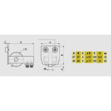 guide-fin-ouverture-fermeture-portail-autoportant-exterieur-p05802-cotes