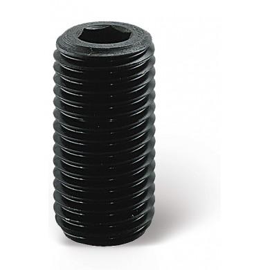 VIS STHC 45H BRUT PAS FIN BT PLAT DIN 913 ISO 4026 M6/M20