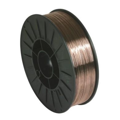 FIL ACIER G3SI1/ER70S-6 Ø 0,8 BOBINE PLASTIQUE S200/5KG GYS