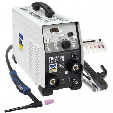 POSTE SOUDURE TIG 200 DC HF FV ACC SR17DB-4M SANS MANO GYS