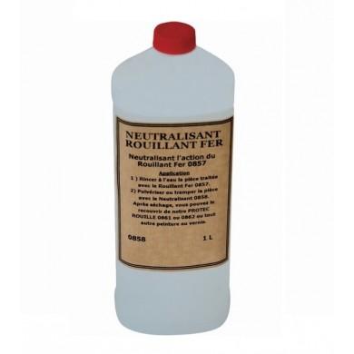 Neutralisant rouillant pour métaux ferreux (1L)