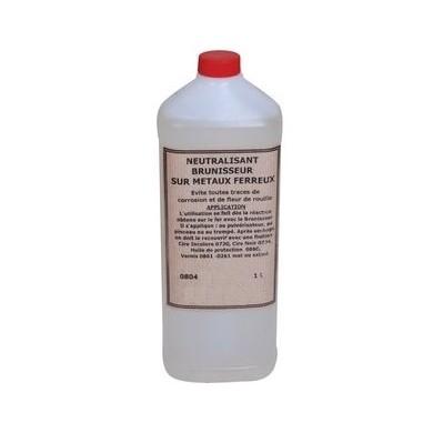 Neutralisant brunisseur sur métaux ferreux (1L)