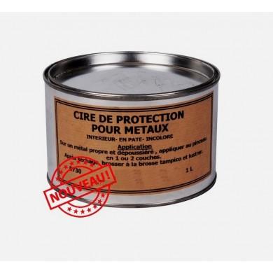 Cire incolore de protection pour métaux (1L)