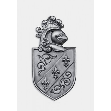 BLASON SIMPLE FACE FONTE MOULÉE BRUT OU ZINGUÉ