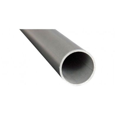 TUBE ROND INOX BROSSÉ 304 - longueur 1 mètre