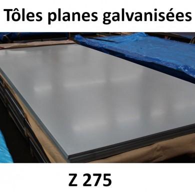 TÔLE ACIER GALAVANISÉ ÉPAISSEUR 1,5 À 4