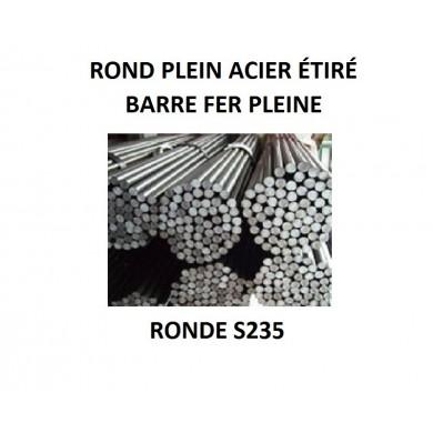 ROND PLEIN ACIER ÉTIRÉ BARRE FER PLEINE RONDE S235