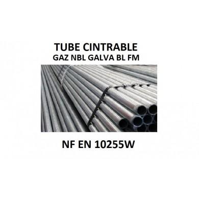TUBE CINTRABLE GAZ NBL GALVA BL - NF EN 10255W - délai 10 jours