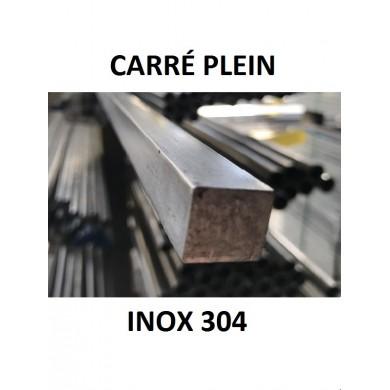 CARRÉ PLEIN INOX 304
