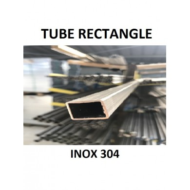 TUBE RECTANGLE INOX 304