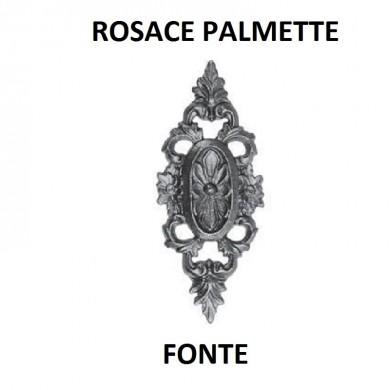 ROSACE DECORATIVE EN FONTE - TARAUDÉ M5 - 100X250 -