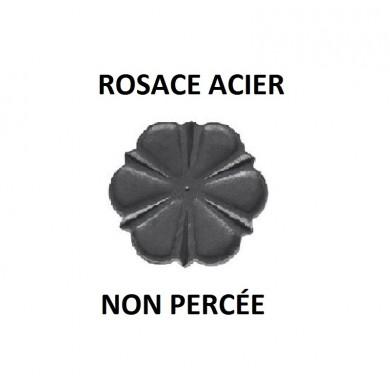 ROSACE ACIER - D90 - ÉPAISSEUR 4 MM - NON PERCEE NI TARAUDE
