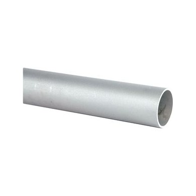 COLONNE ALUMINIUM TUBE LISSE, Ø80, HAUTEUR 3000 MM