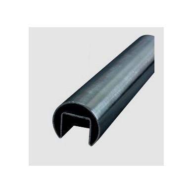 main-courante-inox-304L-verre-interieur-tube-diametre-42-P3589