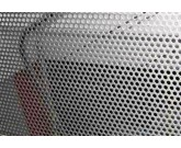 Tôles perforées acier inox pour garde-corps - Zabarno