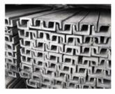 Barre en U à congés acier laminé ou galvanisé - Zabarno