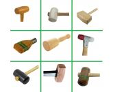 Maillets massettes bois composites caoutchouc cuir - www.zabarno.com