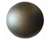 Boule fer forgé, acier, laiton - Zabarno